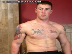 gay sex - Brock from Active Duty