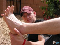 Barefoot Fun In The Sun from Toegasms