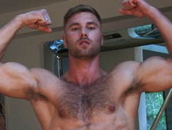 home - Tom Shows Us His Hairy Body from English Lads
