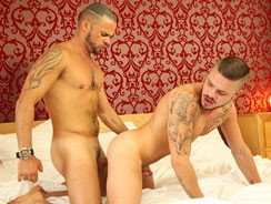 Fabio Lopez And Delta Kobra from Uk Naked Men
