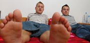 Barefoot Buddies from Toegasms