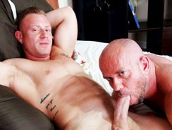 Matt Stevens And Saxon West from Hairy And Raw