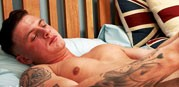 Jack Ashton's Big Uncut Cock from English Lads