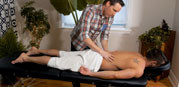 Massaging Zack from Maskurbate