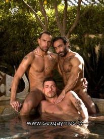 Huessein And Tamas And Matthieu from Sex Gaymes