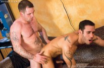 Gay Porn Star 3way from Falcon Studios