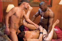 Interracial 3way from Falcon Studios