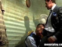 Interrogation Room from Men At Play