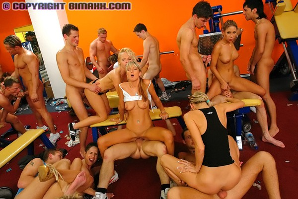 All in orgy action