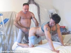 Hank Cruz And Brad Slater from Bareback Masters