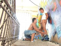 Graffiti from Bel Ami Online