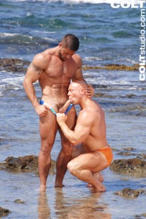 Carlo Masi And Luke Garrett from Colt Studio