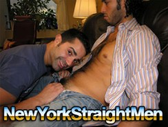Gay Porn - Paco Gets Blown from New York Straight Men