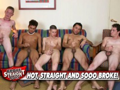 Straight Boy Suckfest from Broke Straight Boys