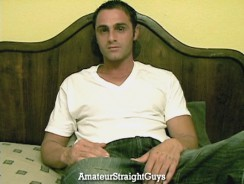 Horny Tony from Amateur Straight Guys