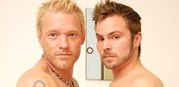 Tyler And Lee from Men Over 30