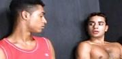 Latino 3way from Sex Gaymes
