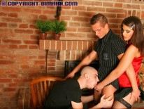 Bisexual Porn Threesome from Bimaxx