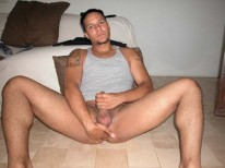Horny Amateur Stud from Young Hot Latinos