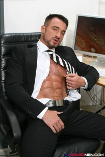 Ross Hurston Suited Up from Uk Naked Men