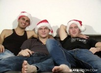 Holiday Threesome from Blake Mason