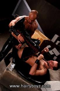 Jake Deckard And Matthieu Paris from Hairy Boyz