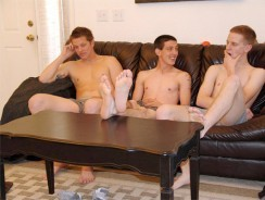 Three On One from Straight Boys Fucking