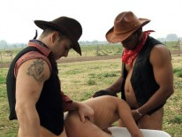 Bandit Gets Branded from Bad Cowboys