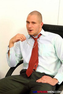 Ben Mason In The Office from Uk Naked Men