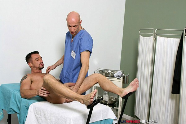 image Naked boy at doctor and movie