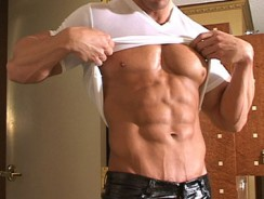 gay sex - Zeb Atlas from Muscle Hunks