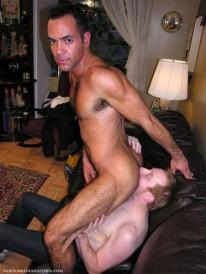 Servicing Brandon from New York Straight Men