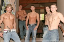 5 Guy Circle Jerk from Next Door Buddies