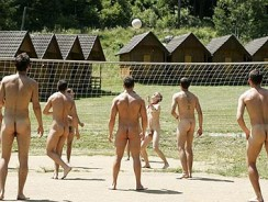Naked Volleyball from William Higgins