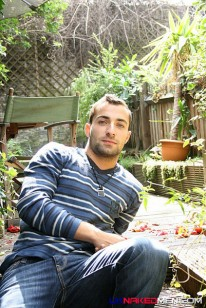 Ivo In The Garden from Uk Naked Men