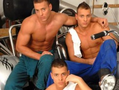 Gay Porn - Visconti Boys Gay Triplets from Visconti Triplets