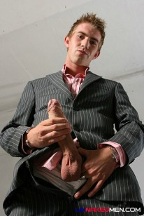Matt In His Suit from Uk Naked Men