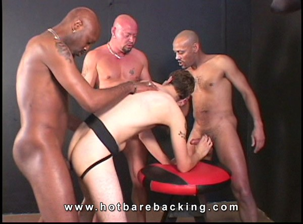 gay gangbang interracial