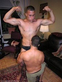 Worshiping Omar from New York Straight Men