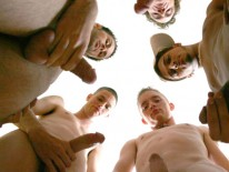 Oral Orgy from Broke Straight Boys