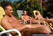 Outdoor Masturbation from Visconti Triplets