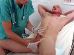Gay Porn - Chads Physical from College Boy Physicals