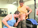 Two Hot Gym Guys Fuck