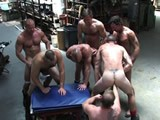 Warehouse Orgy Fuck an