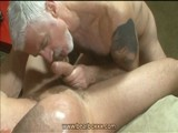 Hot Daddy Bear Blowjob