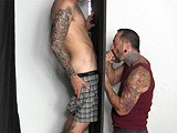 Lance At the Gloryhole