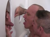 Gloryhole Cum and Piss