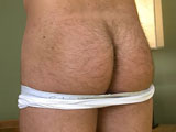Hairy Travis Shows off