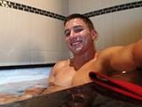 Hot Jock In Bath Jerki
