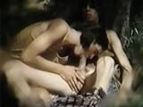Young Men Outdoor Blow
